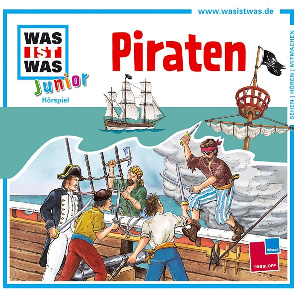 WAS IST WAS Junior Hörspiel Piraten