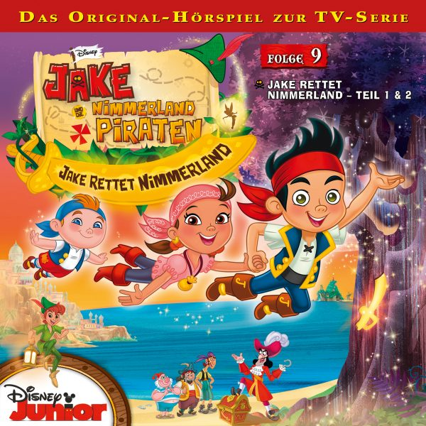 disney jake und die nimmerland piraten folge 9. Black Bedroom Furniture Sets. Home Design Ideas