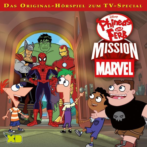 Disney - Phineas und Ferb - Mission Marvel - (TV Special)