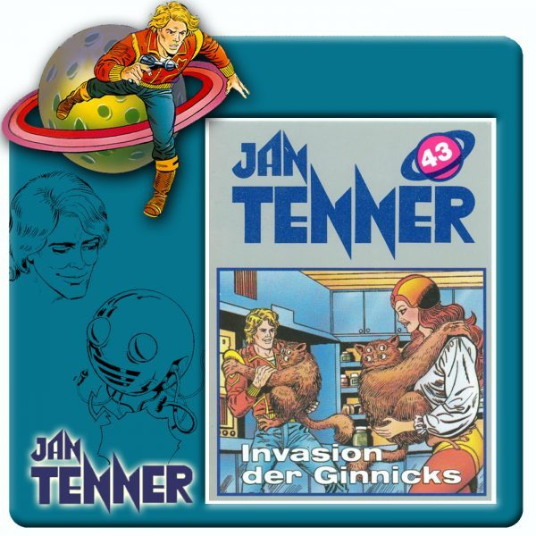 Jan Tenner Classics - Invasion der Ginnicks - (Folge 43)